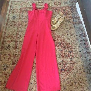 Hot pink jumpsuit 😍